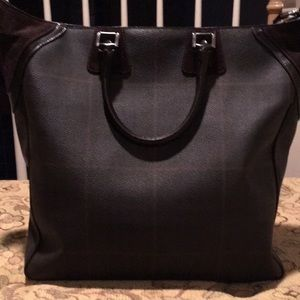 Burberry Leather and Suede Handbag